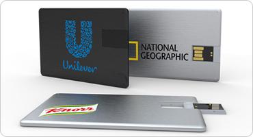 カード型USBメモリ(アルミタイプ)