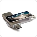 スティック型USBメモリ(ORB)