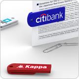 クリップ型USBメモリ