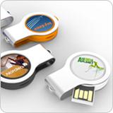 LEDライト内蔵USBメモリ