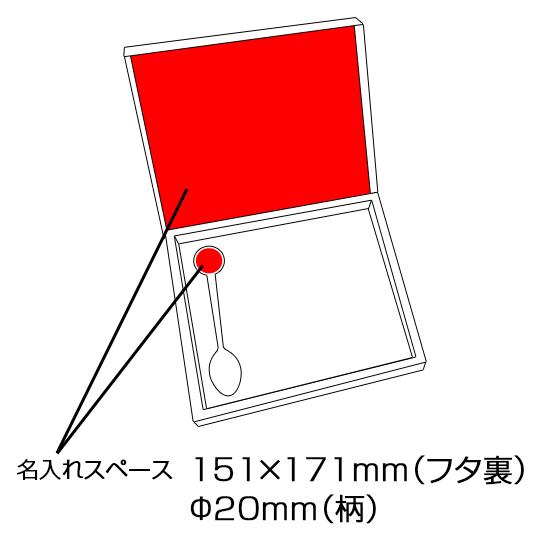 オリジナルスプーン5本(正円)