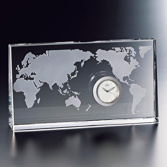 グラスワークスナルミ 【WORLD】 クロック
