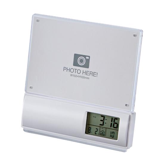 フォトフレーム電波時計商品画像1
