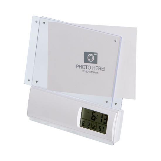 フォトフレーム電波時計商品画像2