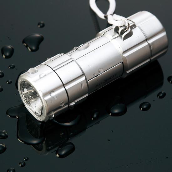 防犯ブザー付防滴ライト商品画像5