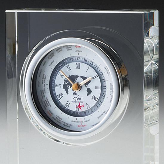 グラスワークスナルミ 【モノリス】 世界時計