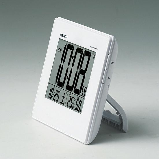 SEIKO SEIKO 温度・湿度表示付デジタル電波時計(掛置兼用) No.35