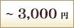 ~3,000円