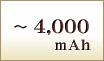 4000mAh