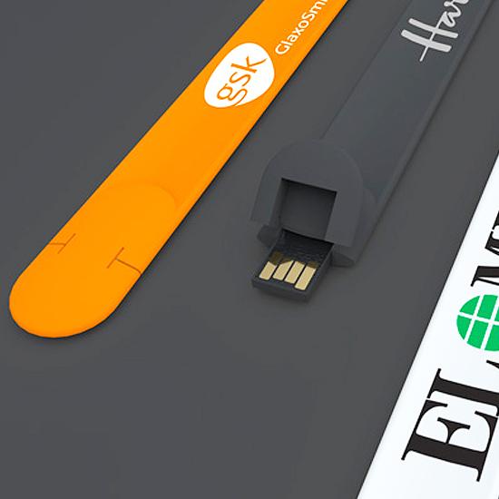 名入れUSBメモリ:リストバンド型USBメモリ(SLA)画像2