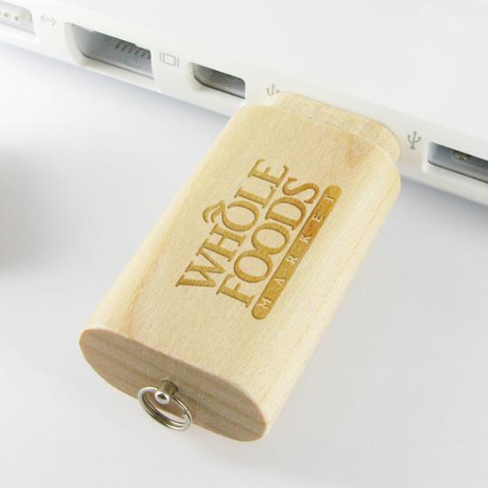 名入れUSBメモリ:木製スティック型USBメモリ画像1